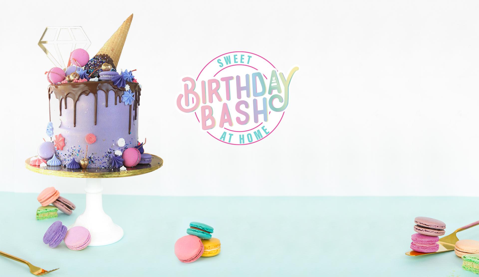 Sweet Birthday Bash at Home
