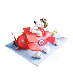 Snoopy Airplane