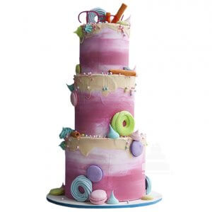 Colorful Fantasy Cake