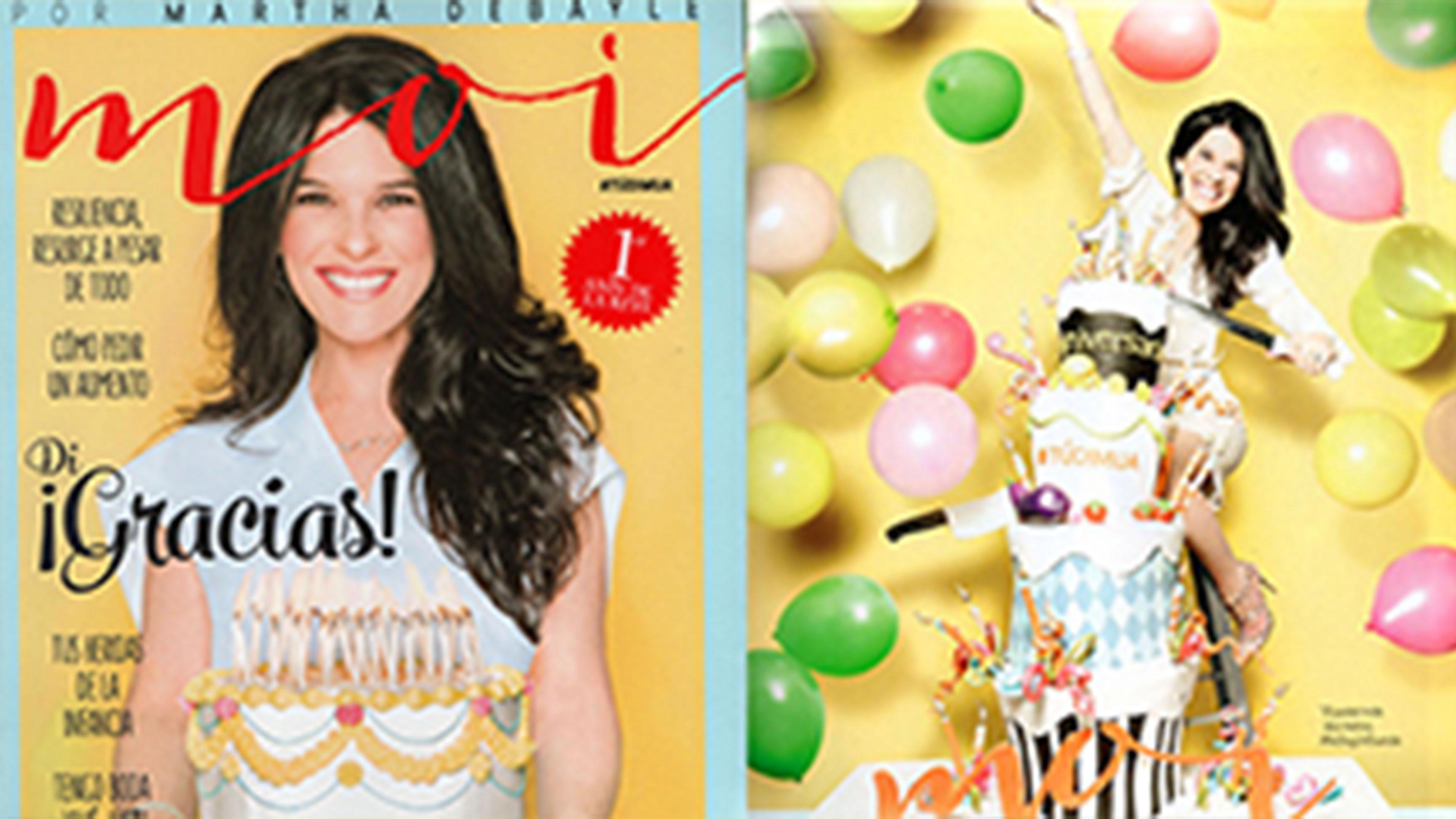 Revista Moi 1er Aniversario