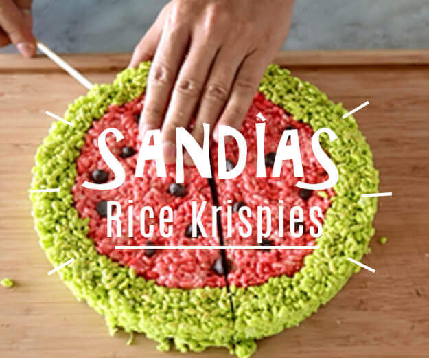 Sandías Rice Krispies